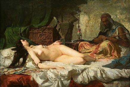 """La Odalisca"" (1861), de Mariano Fortuny"