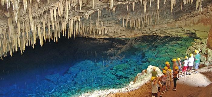 Bonito Gruta do Lago Azul
