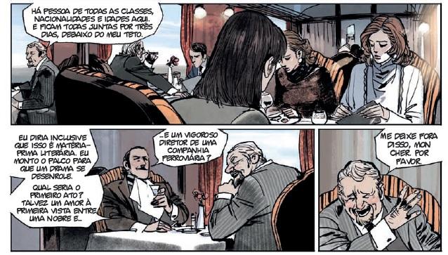 Assassinato no Orient Express em HQ