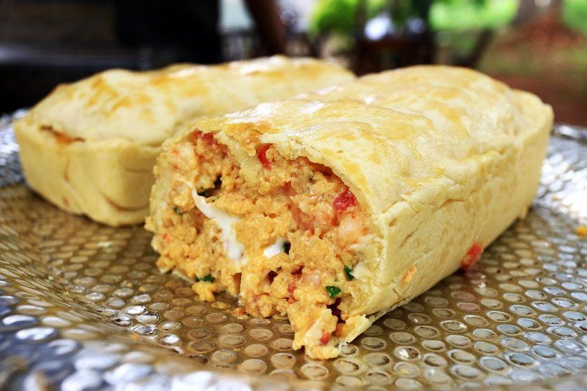 Torta de camarão, da Sweet Cake