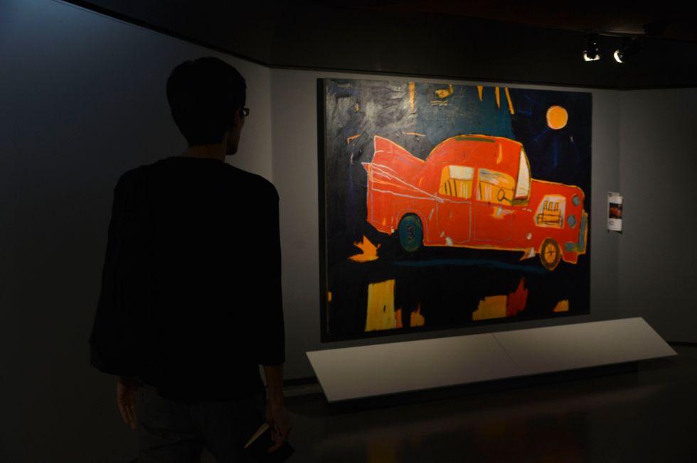Basquiat no CCBB São Paulo/Foto: Rovena Rosa/Agência Brasil