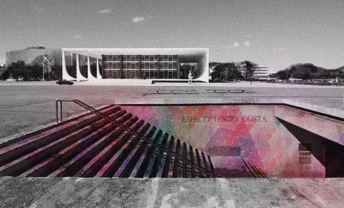 Espaco Lucio Costa Escala Brasilia Maquete 4D Foto Gabriela Bila