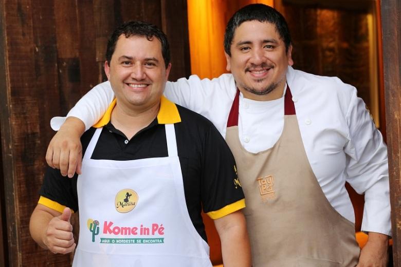 Naldo e Marco Espinoza/Foto: Fabricio Rodrigues/Divulgação