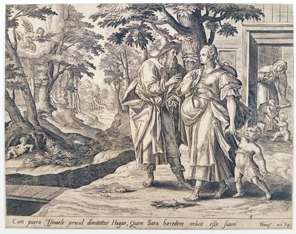 Imagens Impressas/Cum Puero Ismaele, de Pieter de Jode