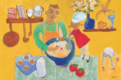 Ilustração de Leovy para matéria do site Man Repeller
