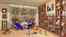 Imagem do jogo Virtual Family Life Adventure - Jogos de Polícia