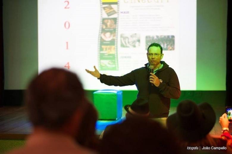 Alexandre Innecco_ em palestra no ECAI _ Foto Joao Campello