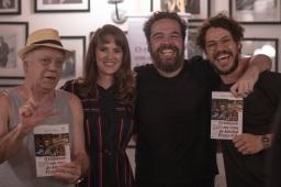 Com Tonico Pereira, Kadu Garcia e José Loreto