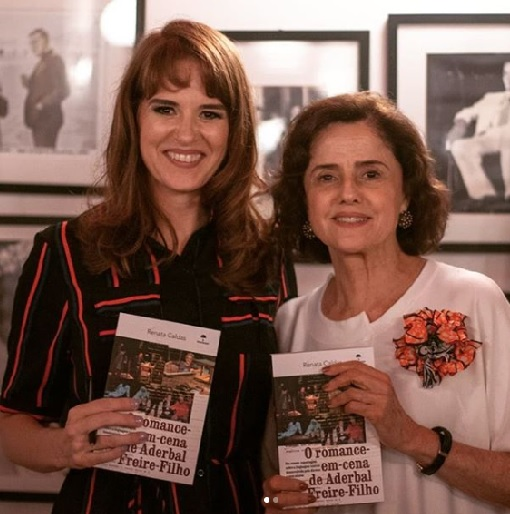 Com Marieta Severo (Fotos: Bruna Leal)