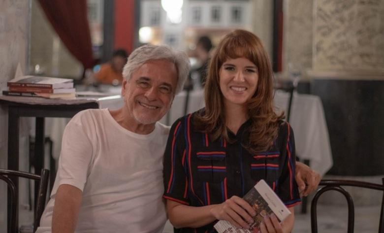 Renata Caldas e Aderbal Freire-Filho
