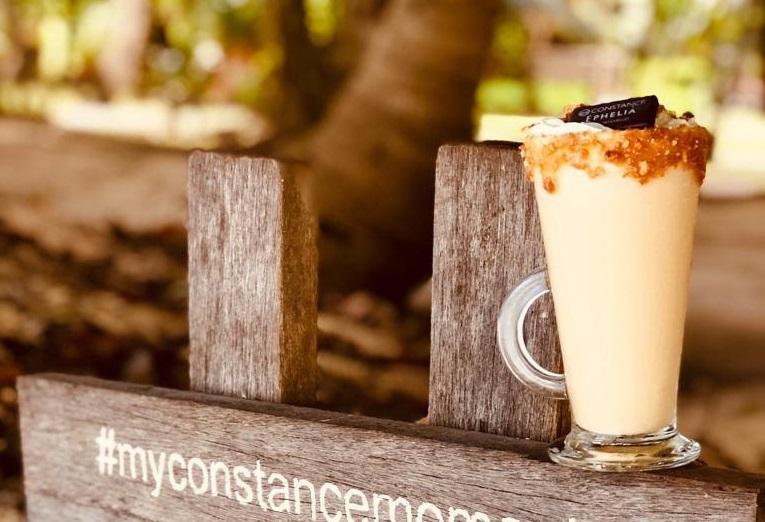 Milkshake de caramelo salgado, de Seychelles