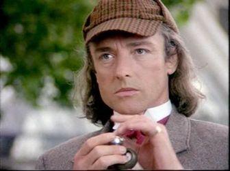 Anthony Higgins em O Retorno de Sherlock Holmes, filme para TV de 1993